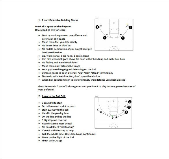 Basketball Practice Plans Template Basketball Practice Plan Template 3 Free Word Pdf