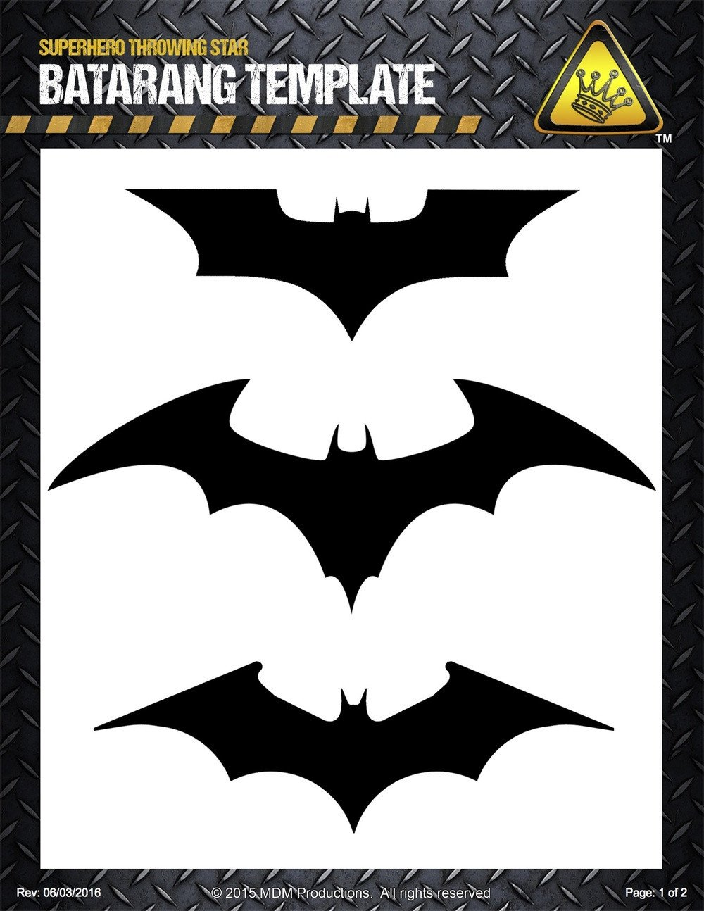Batarang Template Pdf Project Pdfs — the King Of Random