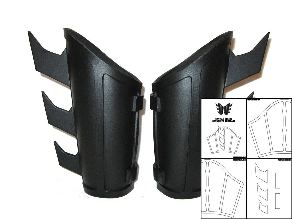 Batarang Template Pdf Template for Batman Begins Gauntlets Version 1 – the