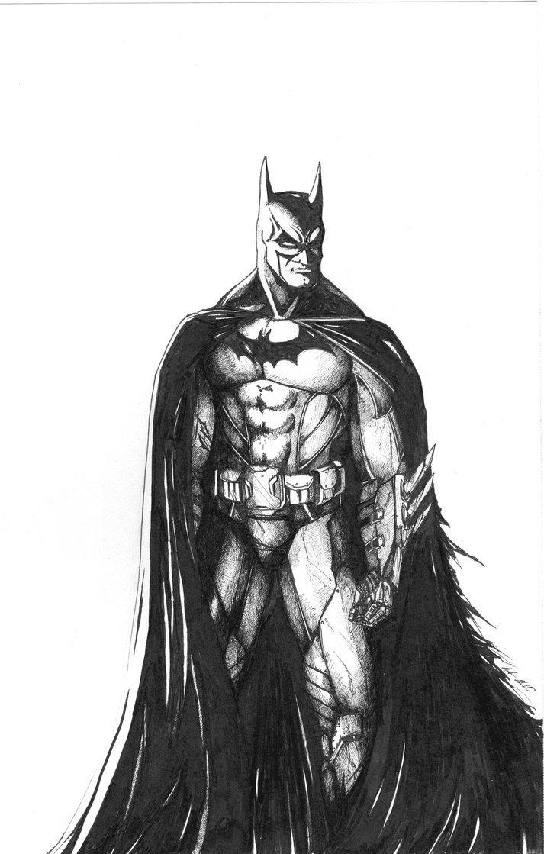 Batman Drawing In Pencil Batman by Jusdrewit On Deviantart