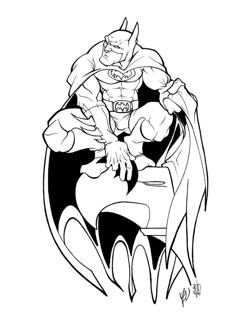 Batman Drawing In Pencil Batman Pencil by thenota Inked by Gz12wk On Deviantart