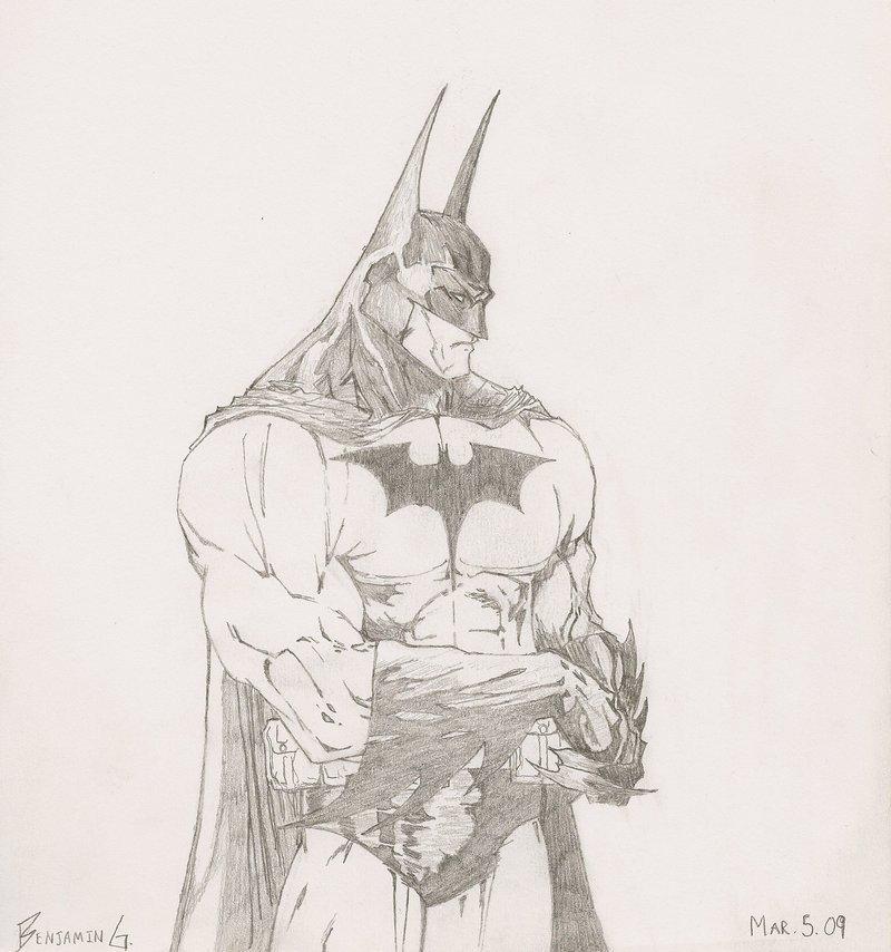 Batman Drawing In Pencil Batman Pencil Drawing by Link777arilius On Deviantart