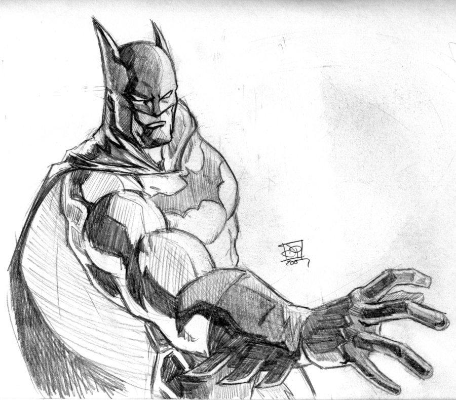 Batman Drawing In Pencil Batman Pencil Sketch by Kenpudiosaki On Deviantart