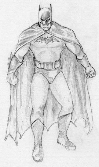 Batman Drawing In Pencil Batman Pencils by Herrenmedia On Deviantart