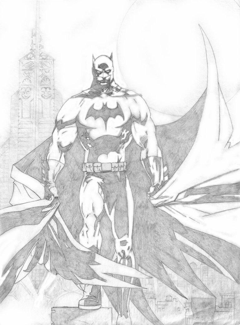 Batman Drawing In Pencil Batman Pencils by Stingroll On Deviantart