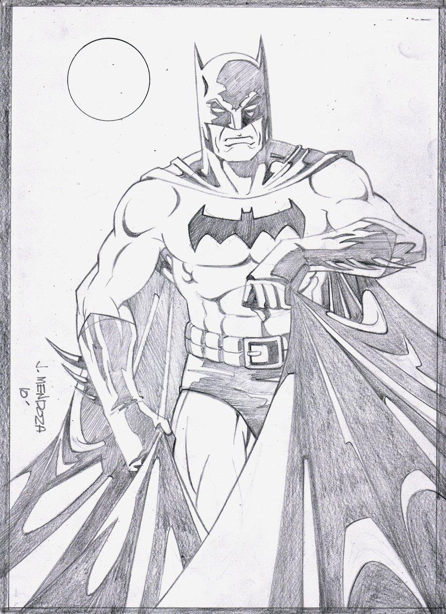 Batman Drawing In Pencil Batman Pencils by Wardogs101 On Deviantart