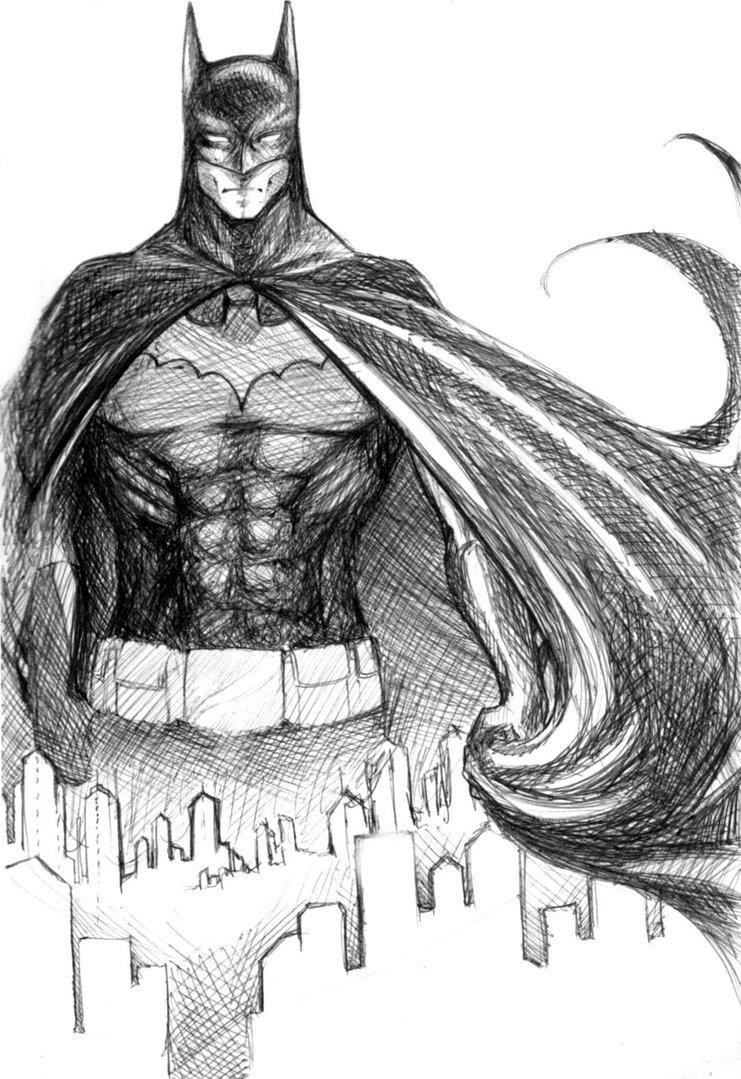 Batman Drawing In Pencil Batman Sketch by Jaisamp On Deviantart