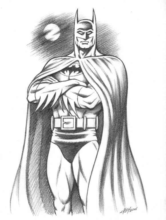 Batman Drawing In Pencil Batmansketch