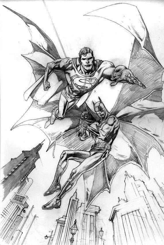 Batman Drawing In Pencil Kevin nowlan July 2011
