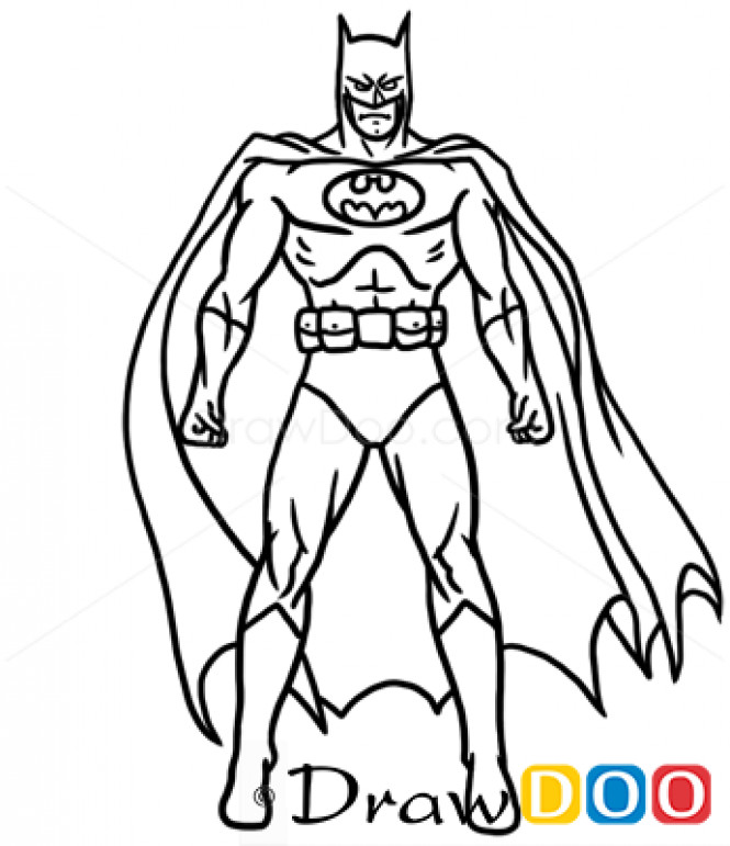 Batman Pictures to Draw How to Draw Batman Cartoon Characters