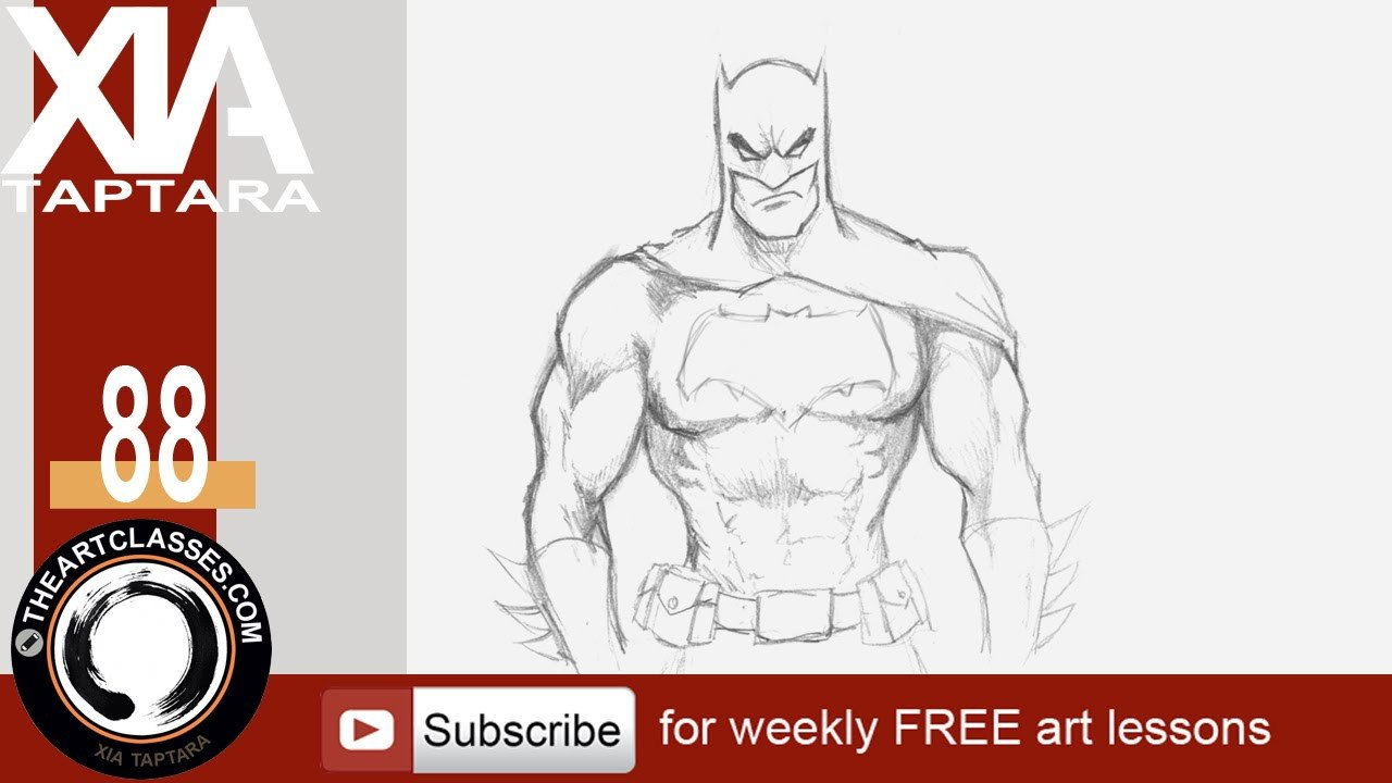 Batman Pictures to Draw How to Draw Batman Dark Knight