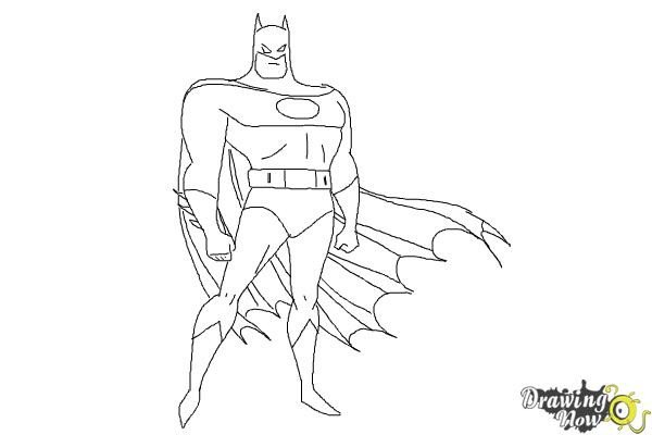 Batman Pictures to Draw How to Draw Batman Easy Drawingnow