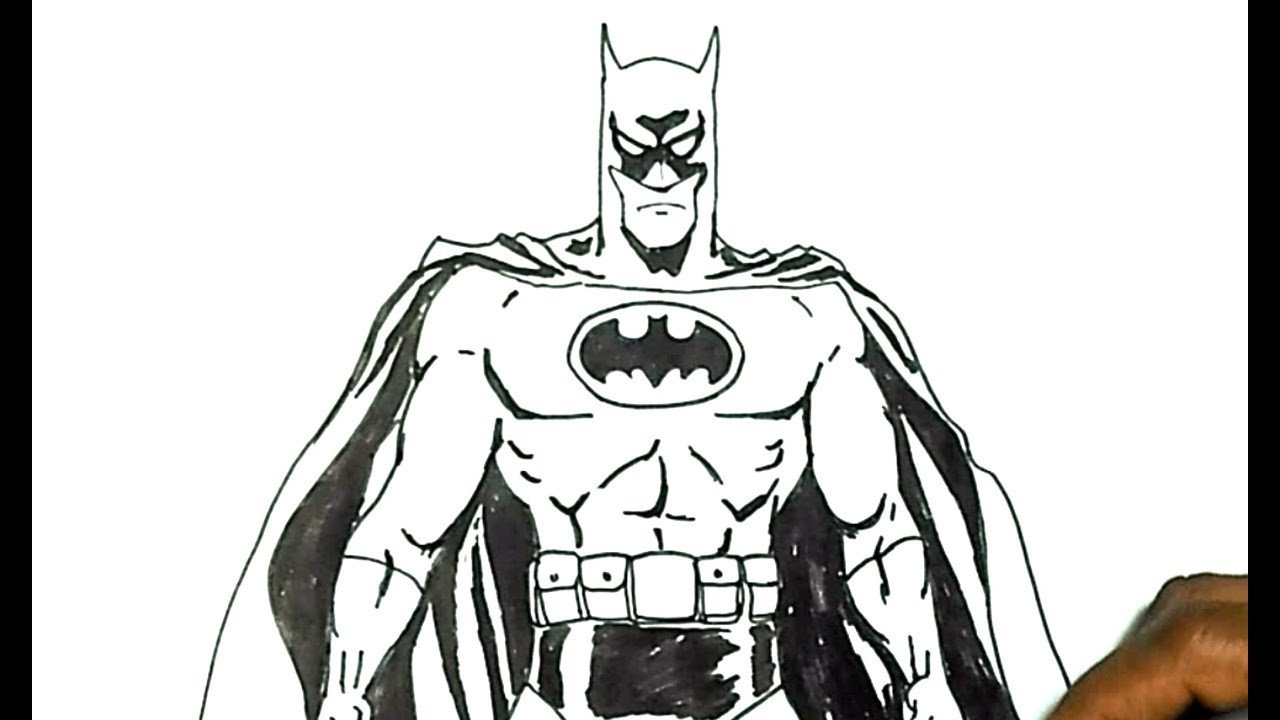 Batman Pictures to Draw How to Draw Batman