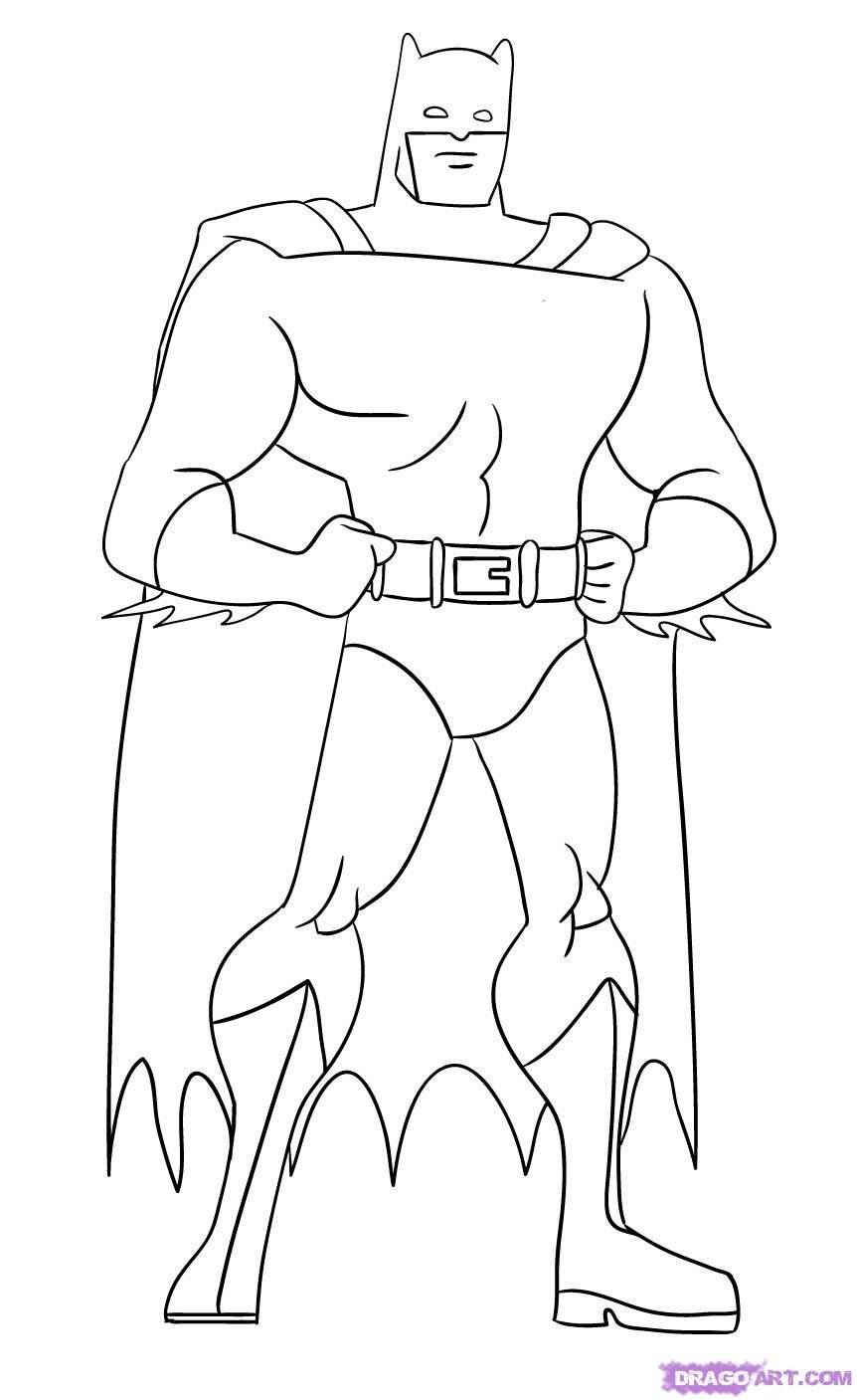 Batman Pictures to Draw How to Draw Batman Step by Step Dc Ics Ics Free