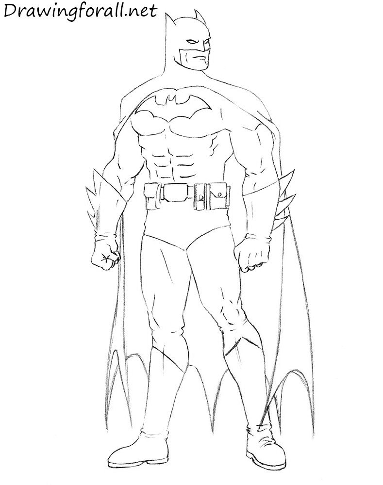 Batman Pictures to Draw How to Draw Batman Step by Step