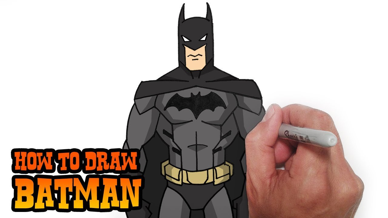 Batman Pictures to Draw How to Draw Batman Young Justice Video Lesson