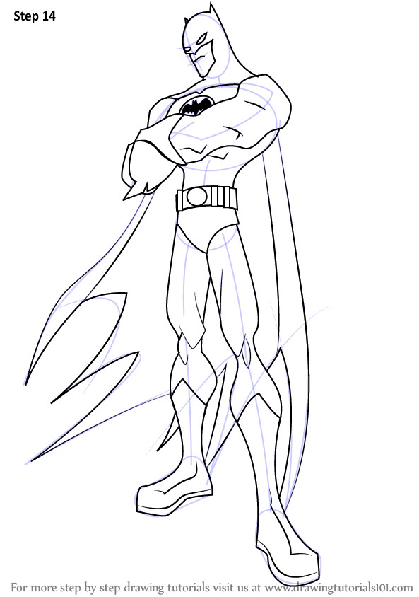 Batman Pictures to Draw Learn How to Draw Batman From the Batman the Batman Step
