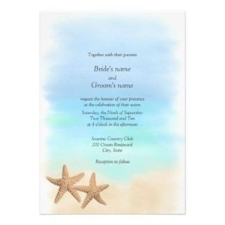 Beach Wedding Invitation Templates Free Beach theme Invitation Templates