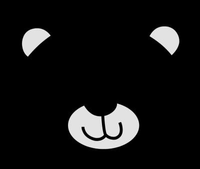 Bear Face Template Best S Of Polar Bear Face Outline Teddy Bear Face