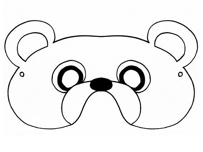 Bear Face Template Pin by Julie Royster On Work Projects