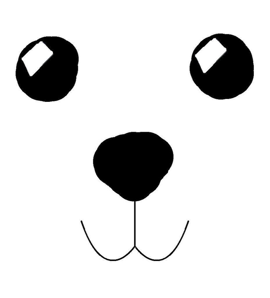 Bear Face Template Sew Warm and Fy Teddy Bear Slippers Bears