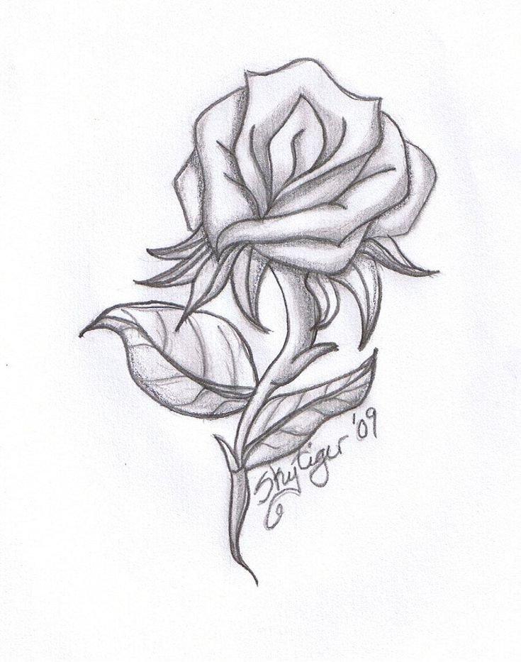 Beautiful Drawings Of Love Drawing Beautiful Roses