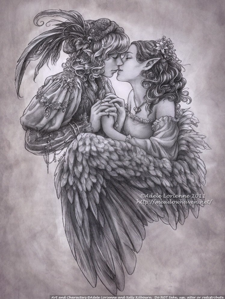 Beautiful Drawings Of Love Love Has A Minstrel S Voice by Saimain On Deviantart