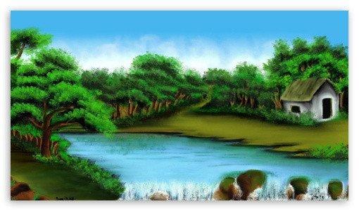 Beautiful Drawings Of Nature Beautiful Nature 4k Hd Desktop Wallpaper for 4k Ultra Hd