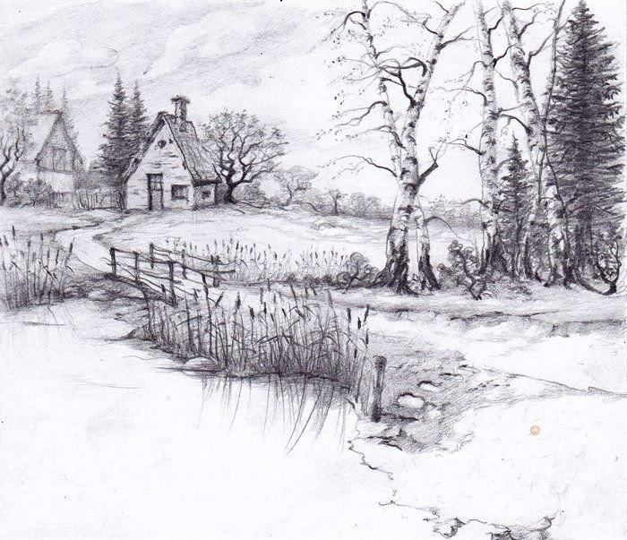 Beautiful Drawings Of Nature Best 25 Landscape Drawings Ideas On Pinterest