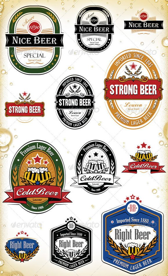 Beer Bottle Label Template Sample Printable Label Template 11 Download Documents