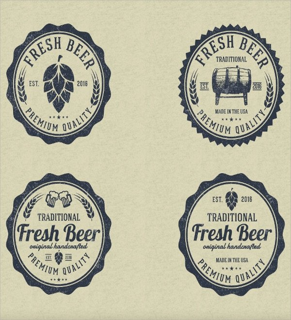 Beer Label Template Free 20 Label Template Psd Vector Eps