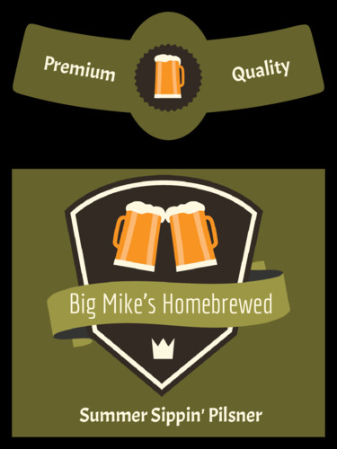 Beer Label Template Free Beer Bottle Label Templates Download Beer Bottle Label