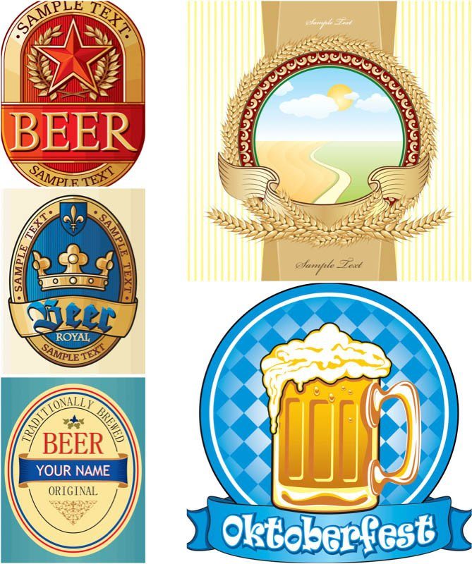 Beer Label Template Free Beer Label Template