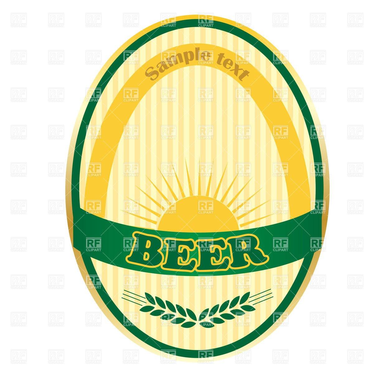 Beer Label Template Free Beer Label Template