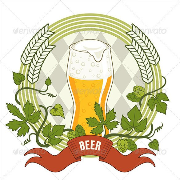 Beer Label Template Illustrator Beer Label Template