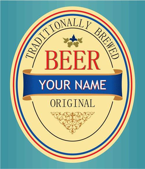 Beer Label Template Illustrator Beer Label Vector Free Vector 8 467 Free Vector
