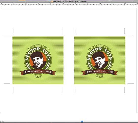 Beer Label Template Illustrator Design A Print Ready Beer Label In Adobe Illustrator
