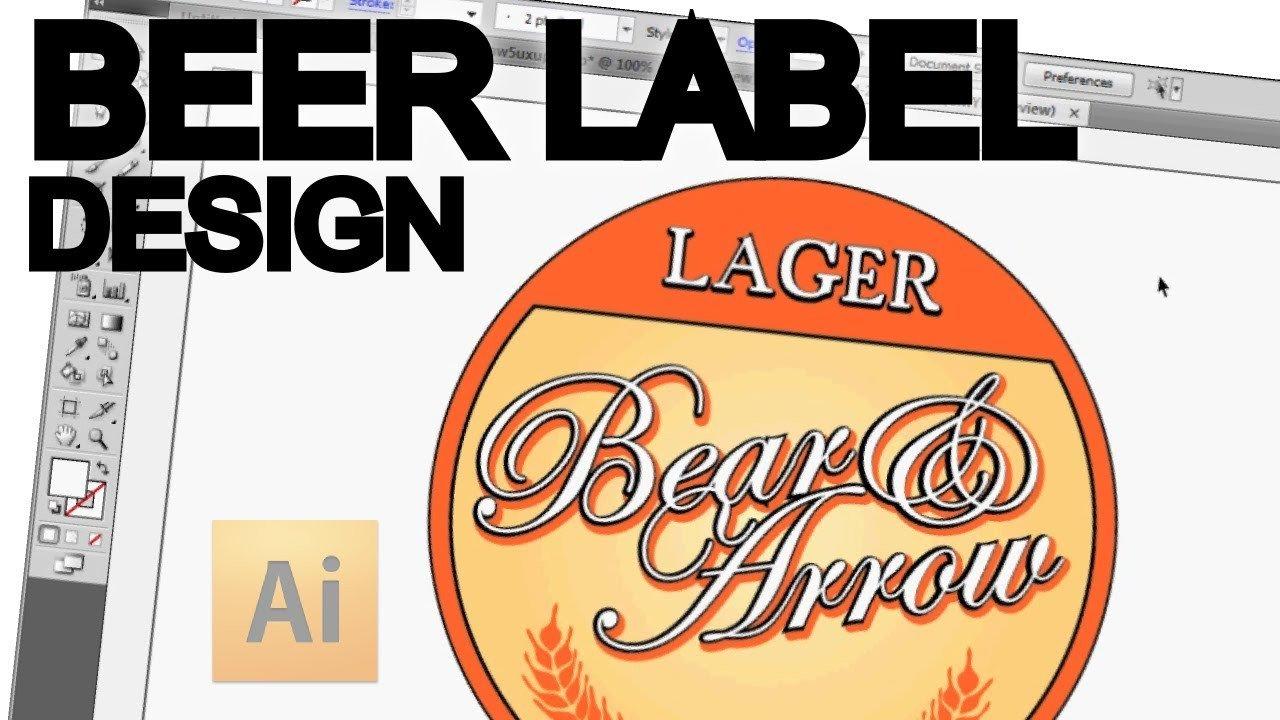 Beer Label Template Illustrator Designing A Plex Logo In Adobe Illustrator