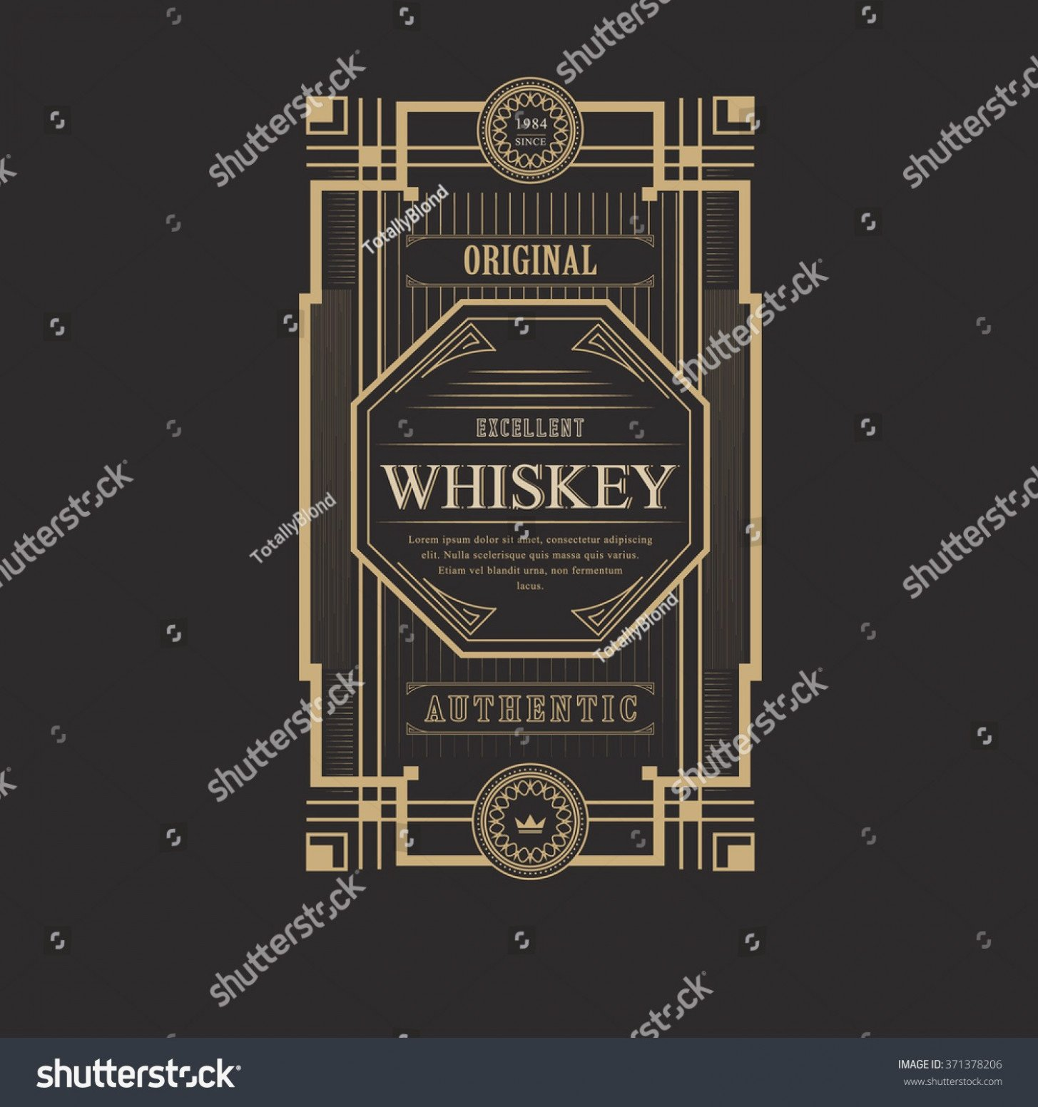 Beer Label Template Illustrator the Miracle Adobe