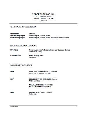 Beginner Actor Resume Template 32 Acting Resumes Of Celebrities and Celebrity Wannabes