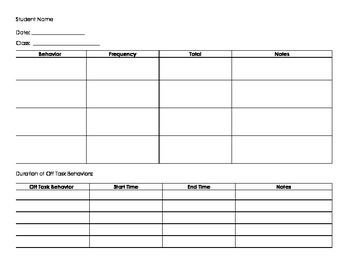 Behavior Tally Sheet Template Best 25 Tally Chart Ideas On Pinterest