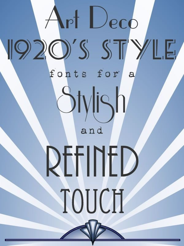 Best Art Deco Fonts 17 Best Ideas About Deco Font On Pinterest