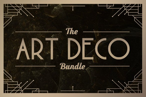 Best Art Deco Fonts 20 Most Beautiful Art Deco Fonts to Inspire You Ttf