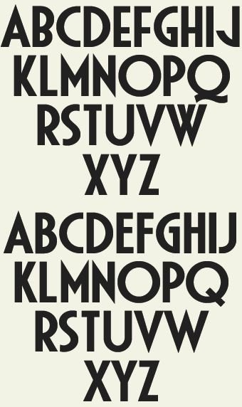 Best Art Deco Fonts Best 25 Art Deco Font Ideas On Pinterest