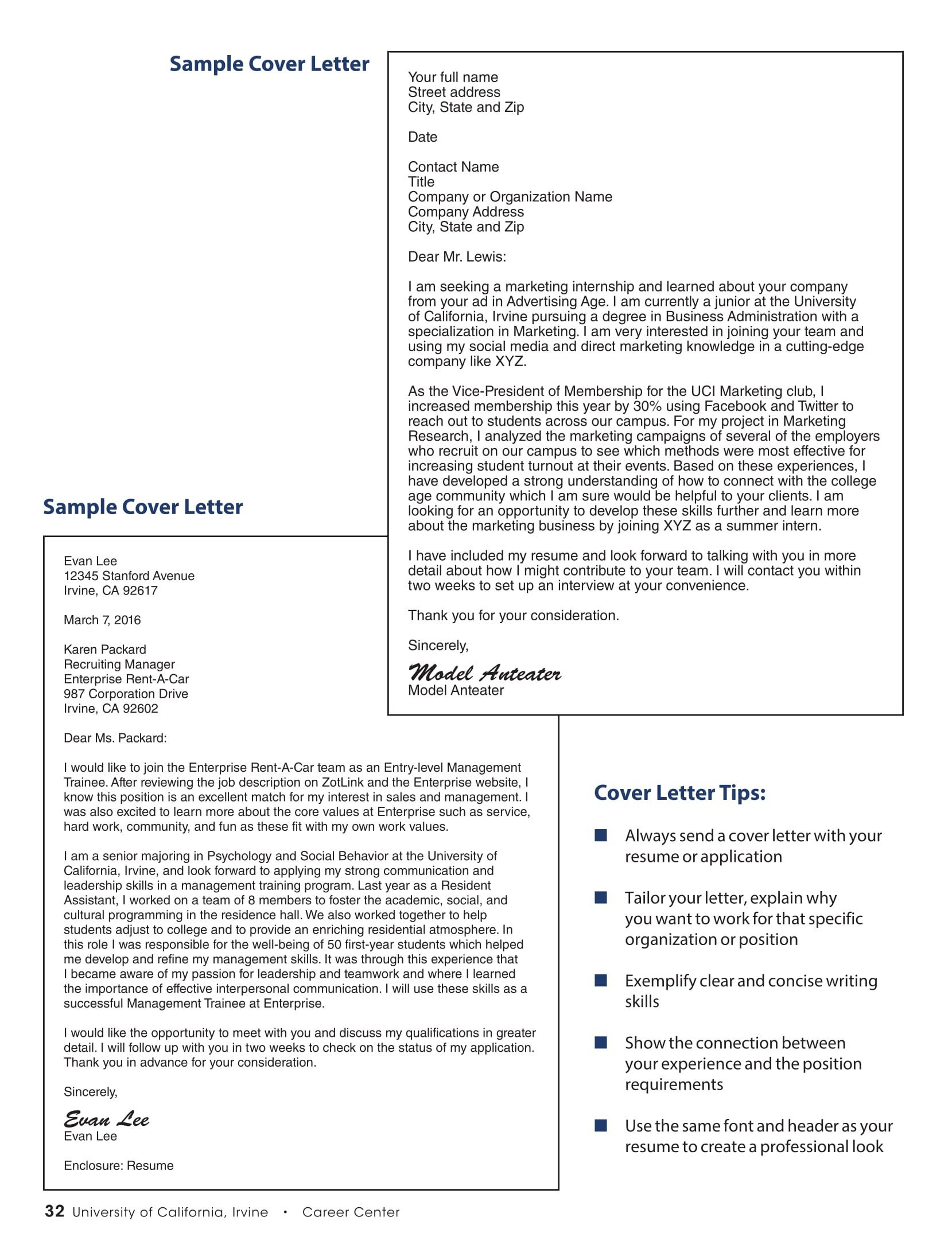 Best Cover Letter Template 32 Best Sample Cover Letter Examples for Job Applicants