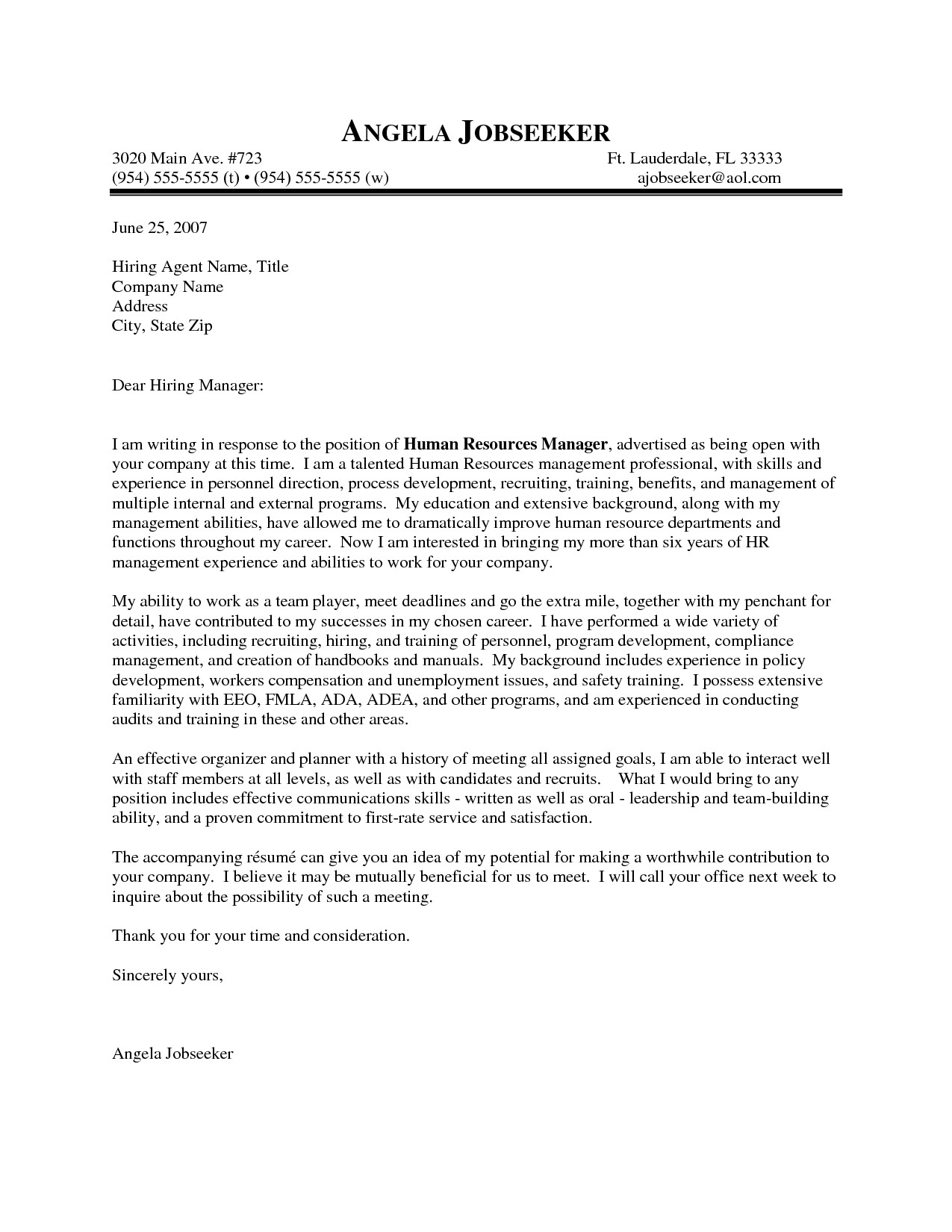 Best Cover Letter Template Outstanding Cover Letter Examples