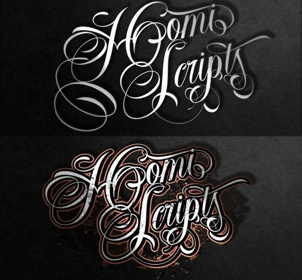 Best Cursive Tattoo Fonts 20 Best Tattoo Lettering Fonts for Download