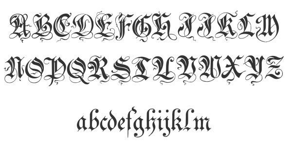 Best Cursive Tattoo Fonts 40 Free Cool Cursive Tattoo Fonts Hative