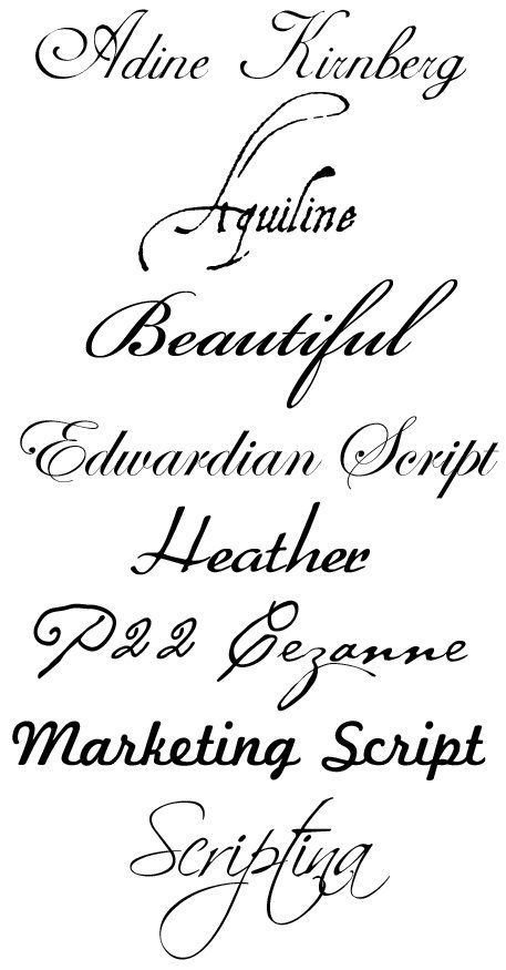 Best Cursive Tattoo Fonts Best 25 Tattoo Fonts Cursive Ideas On Pinterest