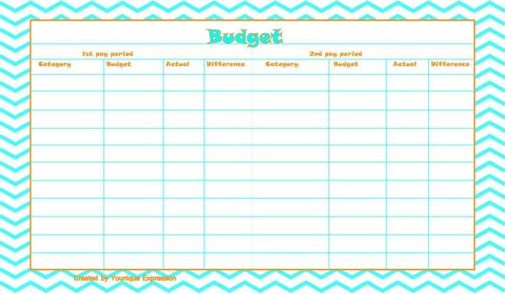 Bi Weekly Budget Worksheet Best 25 Bi Weekly Pay Ideas On Pinterest